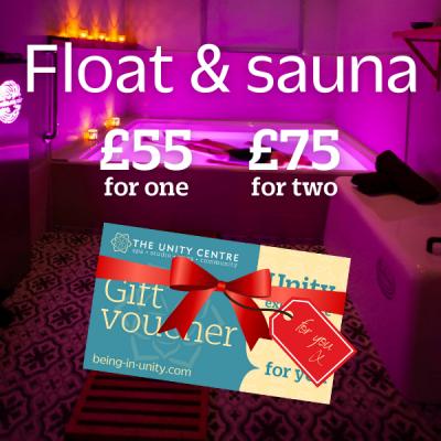 Float & sauna gift voucher