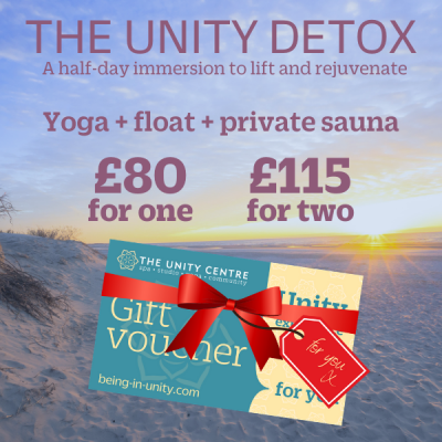 The Unity Detox gift voucher